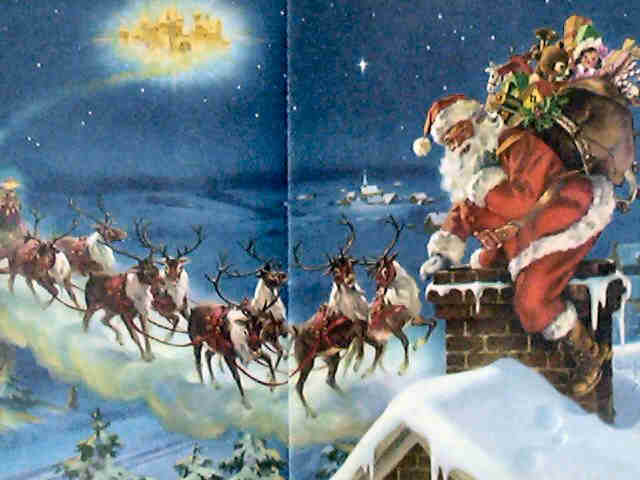 1000+ Images About The Magic Of Santa And His Reindeer On