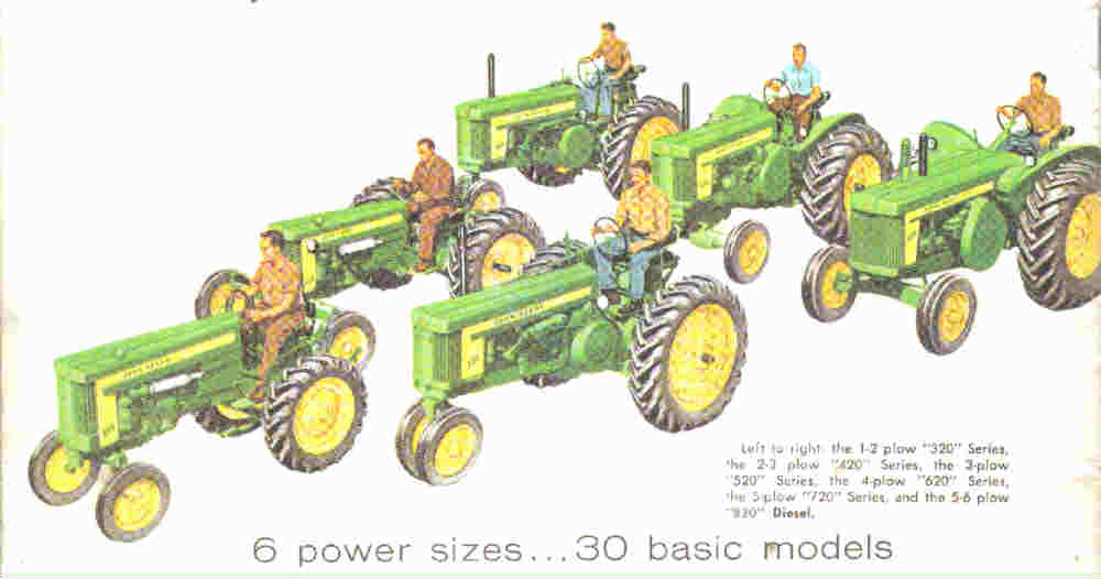 The John Deere 620 Tractor Offered Bigger Profits To Farmers