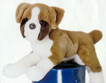 Plush Stuffed Boxer Dog You Will Cherish
