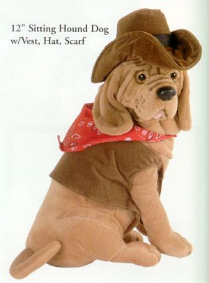 So Handsome Loveable Plush Stuffed Hound Dog