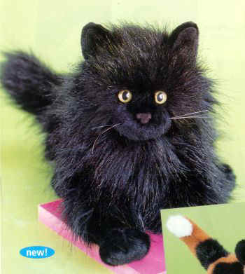 Divinely Inspired Stuffed Plush Angora Cats