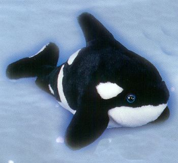 Here S A Crackerjack Of A Stuffed Animal Orca Whales