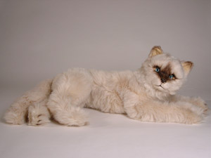 f89c241cf956 Enticingly Cuddly plush stuffed Sealpoint Cat made from first class  materials to last a lifetime.