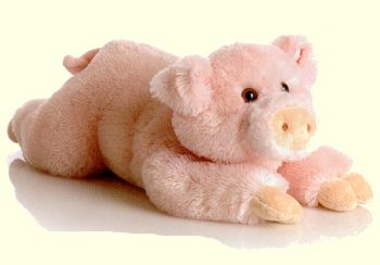 Stuffed Pigs That Are The Talk Of The Farm